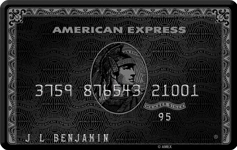 American Express Centurion Credit Card (Black Card)