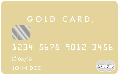 The Luxury Card- Mastercard Gold Card