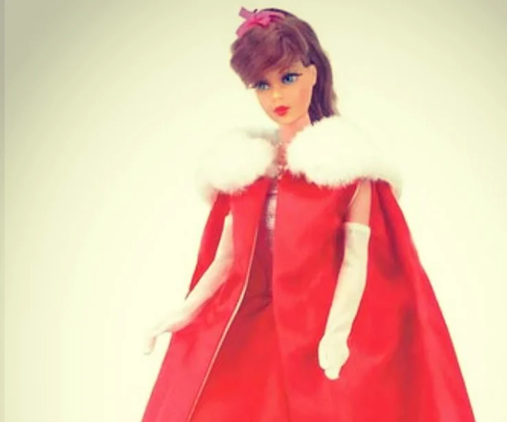 "Barbie In ""Midnight Red"""